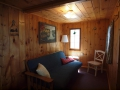 Tuscarora Cabin 2 Living Room