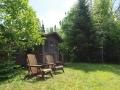 Tuscarora Cabin 2 front door