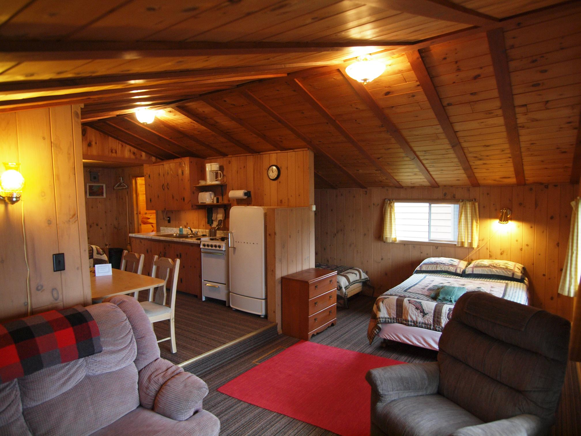 Cabin 4 Living Area
